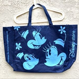 DISNEY   Blue Reusable Tote Bags Mickey Bags New